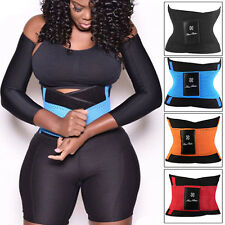 UK Unisex Xtreme Power Belt Hot Slimming Thermo Body Shaper Waist Trainer Corset