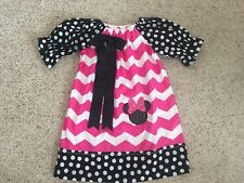 Girls Size 4 Minnie Mouse Dress Bought On Etsy