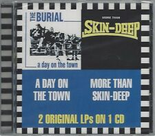 THE BURIAL/SKIN-DEEP-A DAY ON THE TOWN/MORE THAN SKIN DEEP (sealed) STEPCD 081