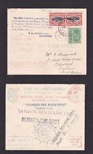 Tonga 1937 Tin Can Canoe Mail Cover Niuafoou Island to Scotland GB Multi CDS