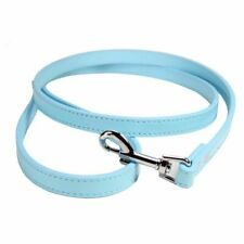 Leash For Dogs Pet Outdoor Walking Soft Pu Leather Dog Leashes Lead Solid Leash