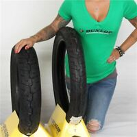 100/90 19, 130/90 16 Dunlop Harley Davidson K591 Tire Kit
