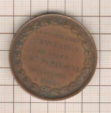 Rouen Medaglia Charles X A Mr Papavoine Meccanico A Rouen