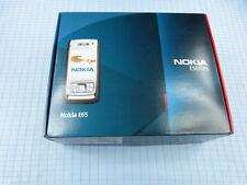 Original Nokia E65 Braun/Silber! Gebraucht! Ohne Simlock! TOP ZUSTAND! OVP!