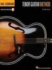 Hal Leonard Tenor Guitar Method - Guitar Method Book and Audio New 000148330