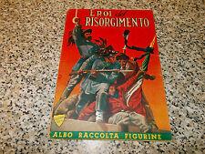 ALBUM EROI DEL RISORGIMENTO 1950 COMPLETO OTTIMO NO PANINI EDIS LAMPO MIRA RELI
