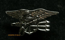 SEAL TEAM TRIDENT HAT LAPEL PIN USS US NAVY SPECIAL WARFARE ENLISTED SNIPER WOW
