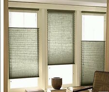 Top Down / Bottom Up Linen Pleated Shade