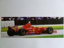 1997 Ferrari F310 B Eddie Irvine Formula 1 Race Car Print Picture Poster RARE