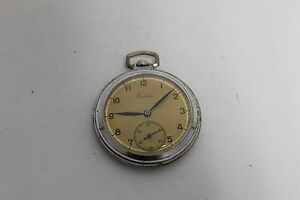 Vintage Old Soviet Russian Salut  Pocket Watch 15jewels