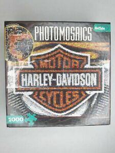 Harley Davidson - Photomosaics Puzzle - 1000 Pieces - Comes with a Bonus Poster!