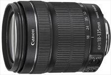 Canon Standard Zoom Lens EF-S18-135mm F3.5-5.6 IS STM from Japan New