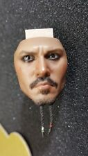 Genuine Disney Hot Toys DX06 POTC Captain Jack 1:6 serious Face PERS Eyes Head