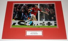 Paul 'Manchester United Utd HAND SIGNED Autograph PHOTO MOUNT SOCCER