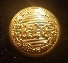 Civil War Era 2 Piece Richardson Light Guard Of Mass. Button Alberts# Ms-94-A