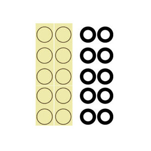 iPhone 11 Small Hole Camera Lens w/Adhesive Tape *10 PACK*