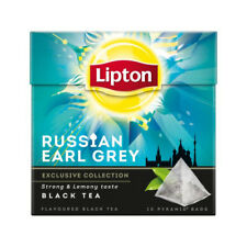 Lipton Tee 5 x 20 = 100 Pyramidebeutel Russian Earl Grey