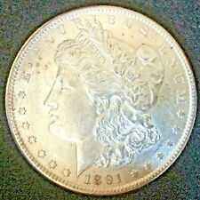 1891-S Morgan Dollar Choice BU