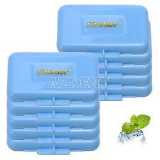 50 Pack Dental Orthodontic Wax Mint Scent For Braces Orth Gum Irritation Blue UK