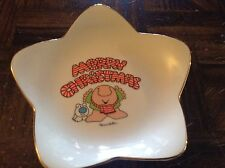 Ziggy merry Christmas decorative porcelain dish