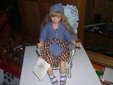 LYDIA poupée en PORCELAINE d artiste de GABY SCHLOTZ edition limitée