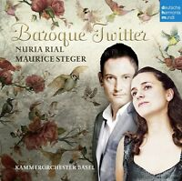 BAROQUE TWITTER - RIAL.NURIA/STEGER.MAURICE/KAMMERORCHESTER BASEL   CD NEW!