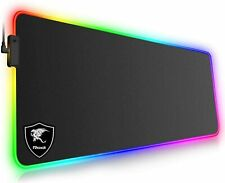 Tappetino Mouse Gaming XXL RGB Mousepad 800*300*4mm Extra Grande PAD LED PC