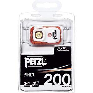 Lampe frontale Petzl Bindi Orange