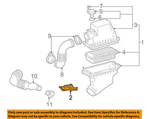 17771-21010 Toyota Bracket, air cleaner 1777121010