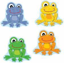 Carson-dellosa Funky Frogs Cut-outs - Learning Theme/subject - 36 Frog Fun -