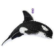 beadworx - Orca en The MER - fabriqué à la MAIN~ PERLE TRAVAIL - Perles cadeau