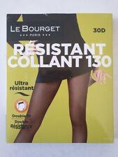 LE BOURGET COLLANT RESISTANT 30 DEN TAILLE 3 COULEUR MARINA