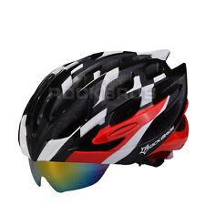 RockBros Helmet 57cm-62cm WT055 Unisex Road Bike MTB Cycling Helmet Black Red