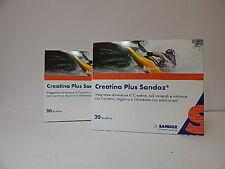2 X CREATINA PLUS Sandoz 20 Buste Integratore Creatina Sali Minerali e Vitamine