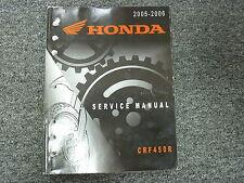 New Service Repair Manual 05 06 CRF450 R OEM Honda Shop Maintenanc Book #M12