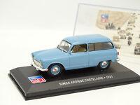 Ixo Presse 1/43 - Simca Aronde Chatelaine 1961 Bleue