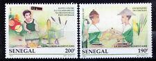 Senegal 1997 MNH 2v, Food safety, Children -R2