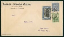 Mayfairstamps Colombia 1930s Manizales to New York Tri Frank Cover wwp79705