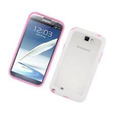 Fundas y carcasas Para Samsung Galaxy Note II de silicona/goma para teléfonos móviles y PDAs