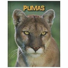 Pumas (Living in the Wild: Big Cats)-ExLibrary