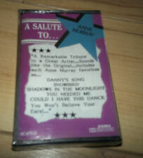 A Salute To Anne Murray Cassette SEALED