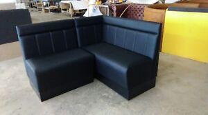 Classic corner sofas for restaurants, hotels, barber shops, bars or clubs
