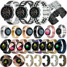 For Samsung Galaxy Watch 42mm Active 2 40/44mm Stainless Steel Watch Band Strap