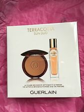 Caja Sellada Guerlain TERRACOTA Perfume Edt 15ml Bronceado en Polvo 10g Sol Duo Set