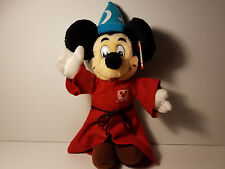 """Micky Mouse Disney Channel Wizard plush, Vintage, Exclusively for Disneyland 14"""""""