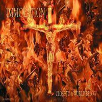 IMMOLATION - CLOSE TO A WORLD BELOW - NEW VINYL LP