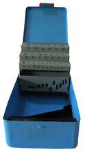 Bohrer Leerkassette 1,0-13 x 0,5mm 25-tlg Box Leer Metallkassette Bohrermagazin