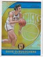 2016-17 Dave DeBusschere #/269 Panini Gold Standard Refractor NY Knicks
