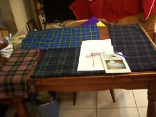 WoolPieces/BraidingBlueSet (4) 2# Total (See Listing),Toothbrush Rug/needle,inst