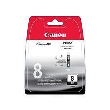Cartucho tinta canon CLI 8bk negro